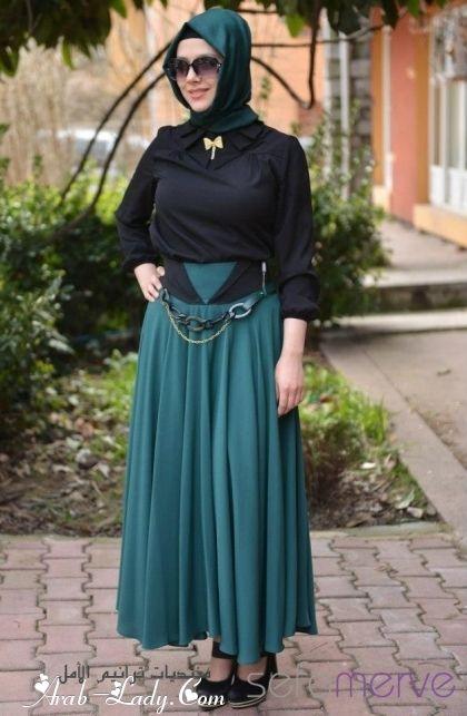 بالصور ملابس تركية للمحجبات , صور موديلات تركيه للمحجبات 6359 11