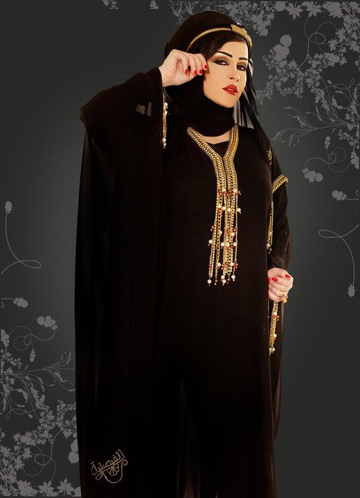 بالصور اشيك ملابس , ملابس عبايات اخر شياكه 6386 3