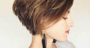 صورة اجمل تسريحات الشعر القصير , قصات شعر قصير رائعه