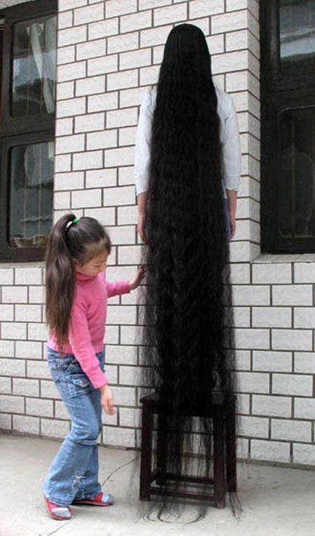 صورة اطول شعر في العالم , حقيقه اطول شعر فى العالم وروعته