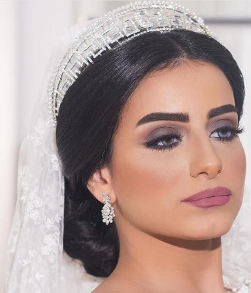 صورة مكياج عرايس ناعم , ارق مكياج للعرائس