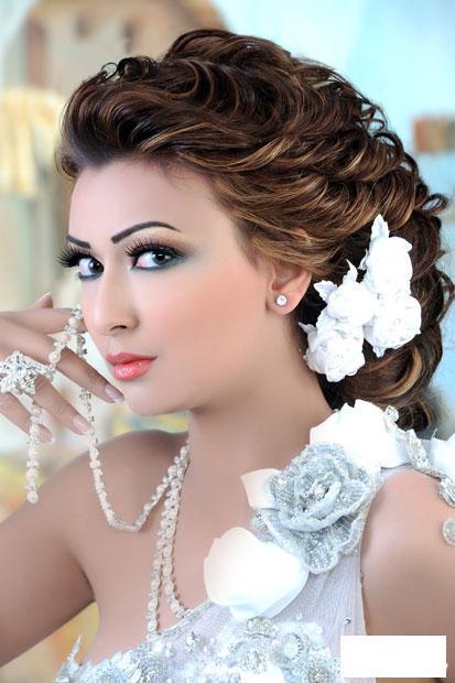 صورة مكياج عروس , ميك اب للعروسة