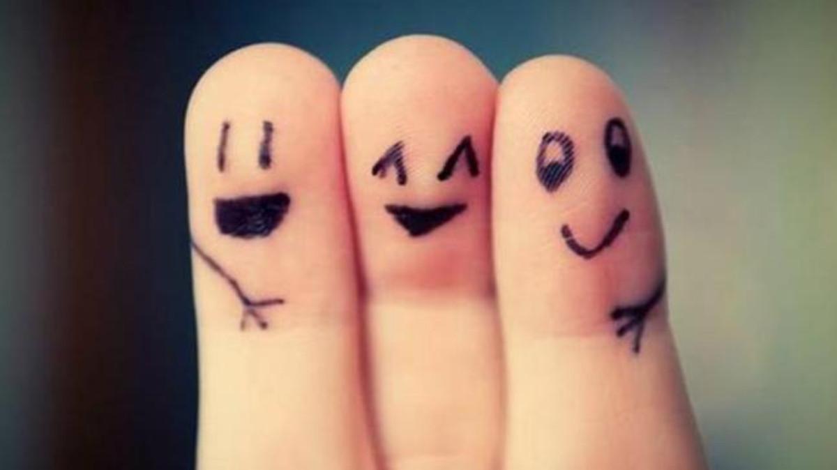 صورة صور عن الصديقات , صور تعبر عن الصداقة الحقيقية
