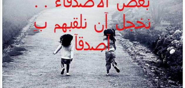 بالصور اجمل كلام عن الصديق , الصديق السند 4948 9