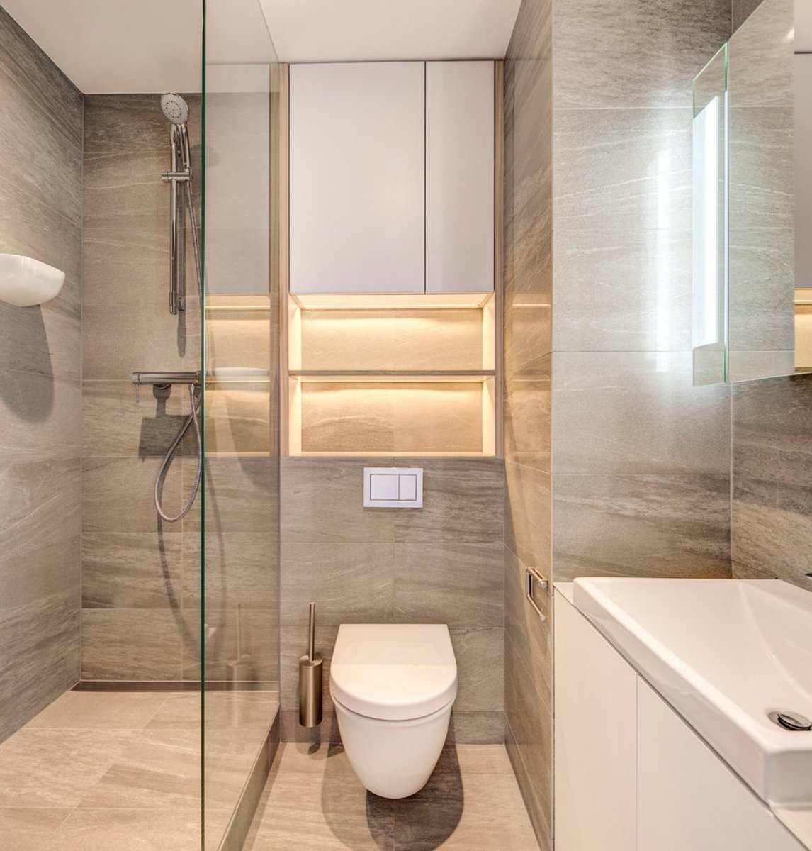 بالصور حمامات صغيرة , صور ديكورات حمامات 5007 1