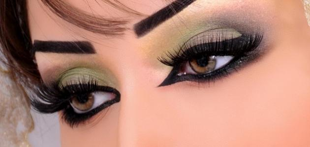 صورة مكياج عيون بالخطوات , طريقه وضع مكياج العيون مها