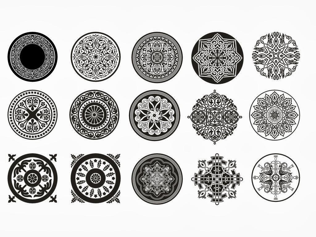 زخرفة نباتية رسم زخارف سهله جدا Al Ilmu 12