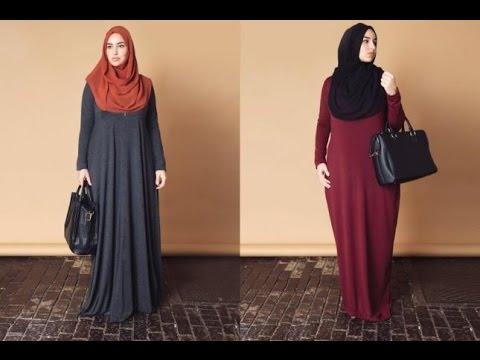 صورة ملابس للحوامل المحجبات , اطلالات حوامل محجبات