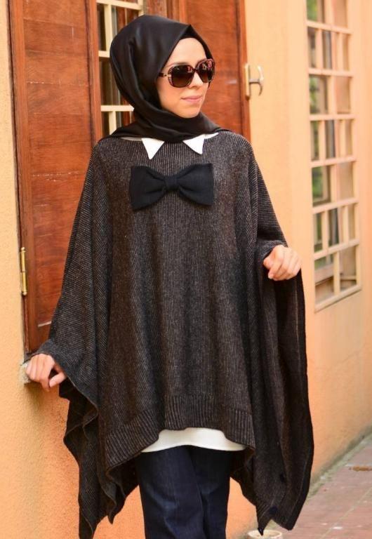 بالصور ملابس للحوامل المحجبات , اطلالات حوامل محجبات 5184 11
