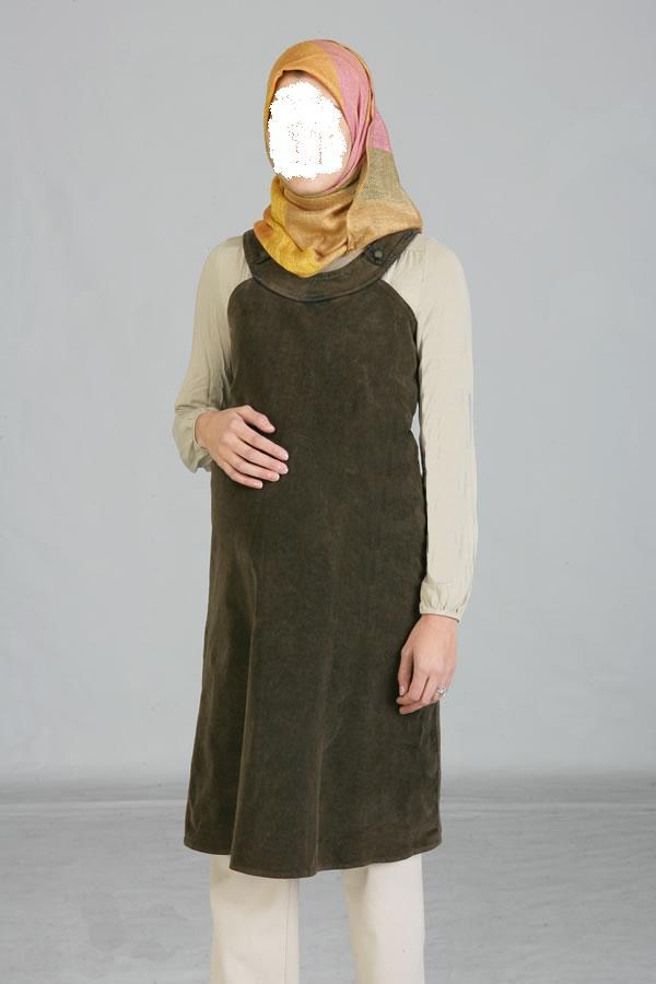 بالصور ملابس للحوامل المحجبات , اطلالات حوامل محجبات 5184 8