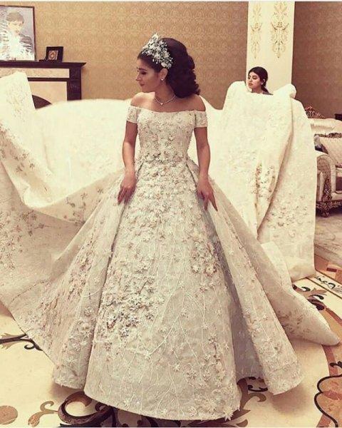 d2f7c1607 صور فساتين زفاف , صور فساتين زفاف جميلة - دلع ورد