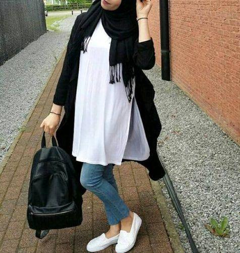 بالصور اشيك ملابس محجبات , اجدد ملابس محجبات 5297 4