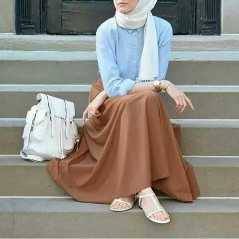 بالصور اشيك ملابس محجبات , اجدد ملابس محجبات 5297 5