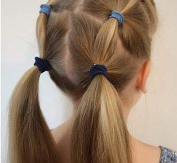 صور تسريحات للمدرسه , اجمل تسريحه شعر للاطفال فى المدرسه