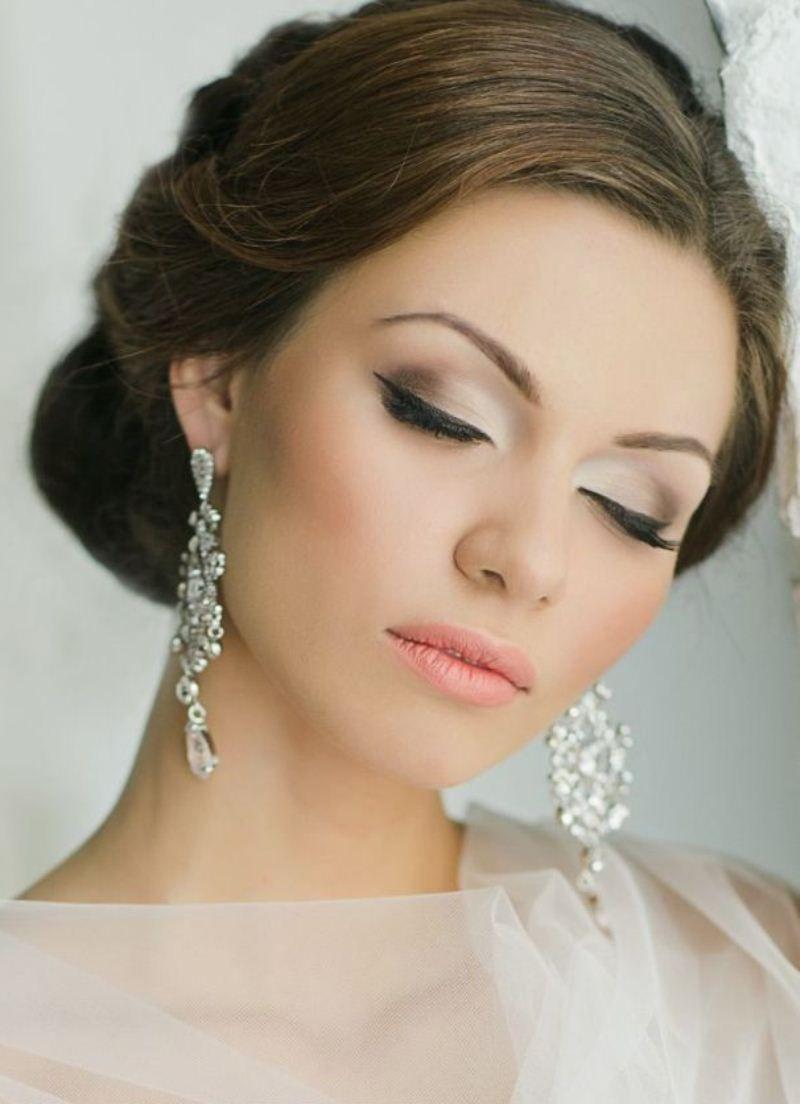 بالصور صور مكياج عرايس ناعم , عروسات جميلات بارق المكياج 1009 11