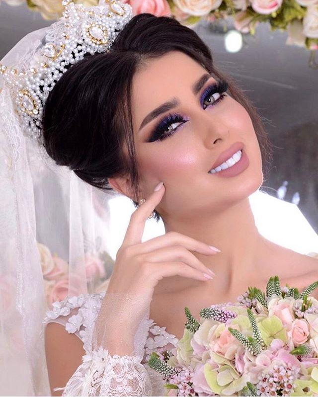 بالصور صور مكياج عرايس ناعم , عروسات جميلات بارق المكياج 1009 12