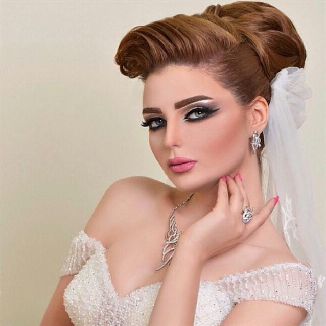 بالصور صور مكياج عرايس ناعم , عروسات جميلات بارق المكياج 1009 2