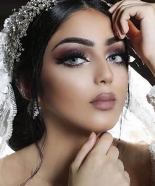 بالصور صور مكياج عرايس ناعم , عروسات جميلات بارق المكياج 1009 4