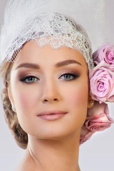 بالصور صور مكياج عرايس ناعم , عروسات جميلات بارق المكياج 1009 5