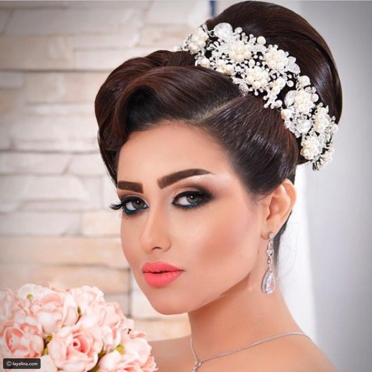 بالصور صور مكياج عرايس ناعم , عروسات جميلات بارق المكياج 1009 6