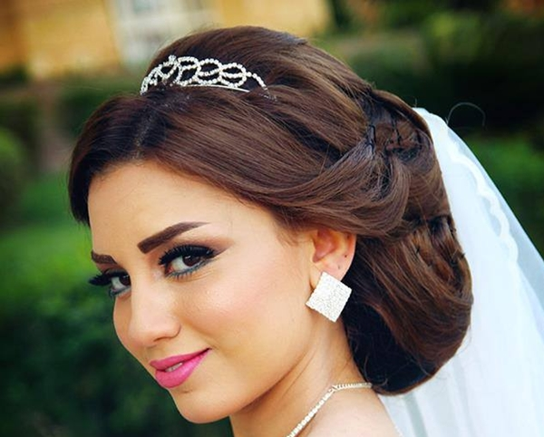 بالصور صور مكياج عرايس ناعم , عروسات جميلات بارق المكياج 1009 7