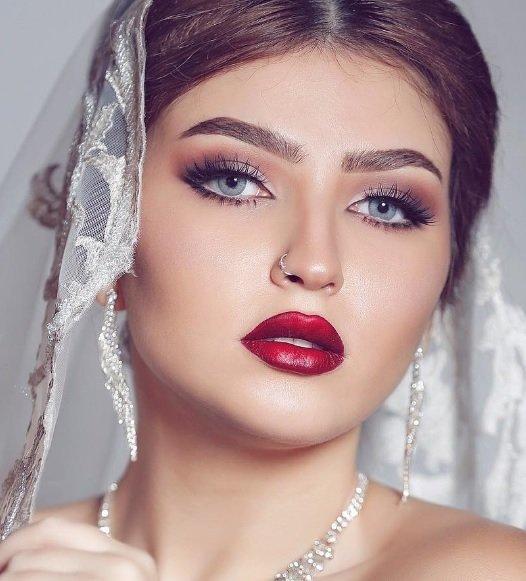 صورة صور مكياج عرايس ناعم , عروسات جميلات بارق المكياج