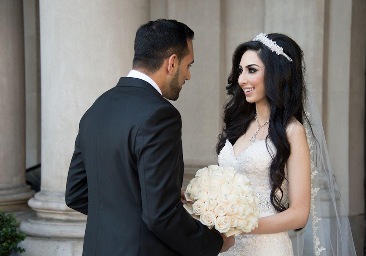 بالصور صور عريس وعروسة , اجمل الصور بين العرائس فى يوم الزفاف 1019 1