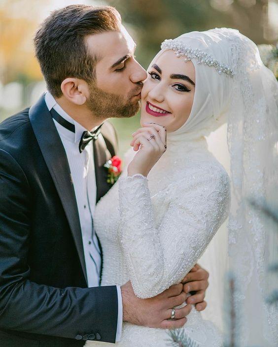 بالصور صور عريس وعروسة , اجمل الصور بين العرائس فى يوم الزفاف 1019 8