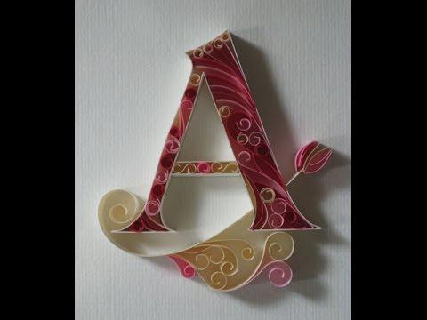 صوره اجمل صور حرف a , حروف جميله باشكال رائعه