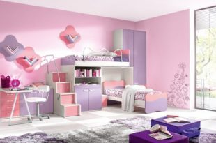 صوره ديكورات غرف نوم اطفال , ديكور هادئ لنوم مريح للاطفال
