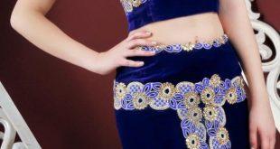 صورة قنادر قطيفة قالمية , موديلات فساتين قطيفه للنساء بشكل جديد