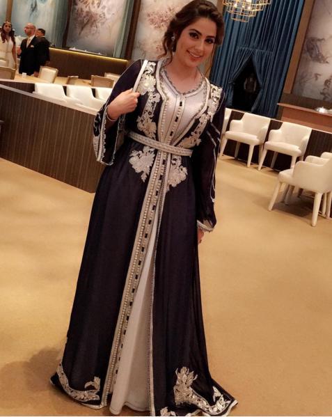 صور قفطان مغربي 2019 , اشيك القفاطين النسائية