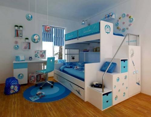 صورة غرف نوم اطفال اولاد , اجمل غرف الاولاد
