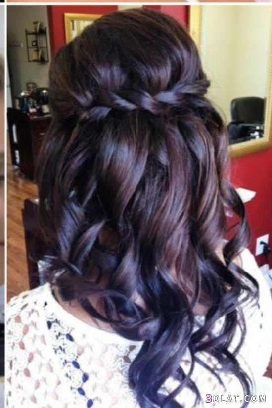 صورة موديلات شعر بسيطة , تسريحات شعر بسيطة