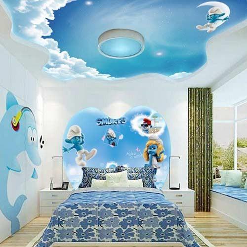 صورة ديكورات جبس غرف نوم اطفال , اجمل ديكورات غرف الاطفال