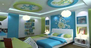 صوره ديكورات جبس غرف نوم اطفال , اجمل ديكورات غرف الاطفال
