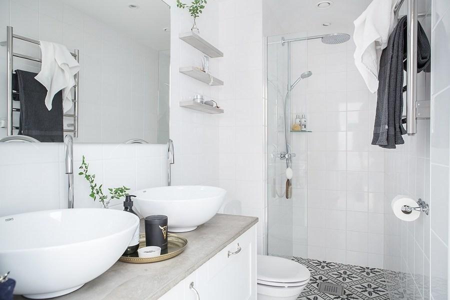صورة ديكور حمامات صغيرة , اشيك ديكورات الحمام