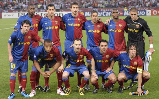 بالصور صور فريق برشلونة , فريق الكورة الاسبانى برشلونة . 1766 4