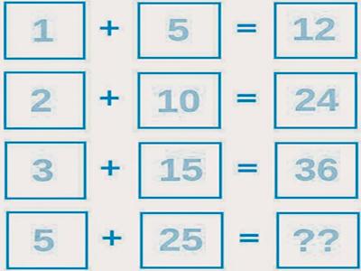بالصور الغاز رياضيات سهلة مع الحل , اسهل الالغاز الرياضيه 2315 6