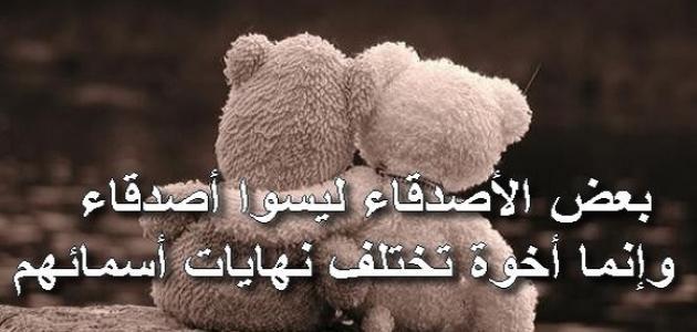 صورة كلام جميل عن الصداقة , اجمل ما قيل عن الصداقه