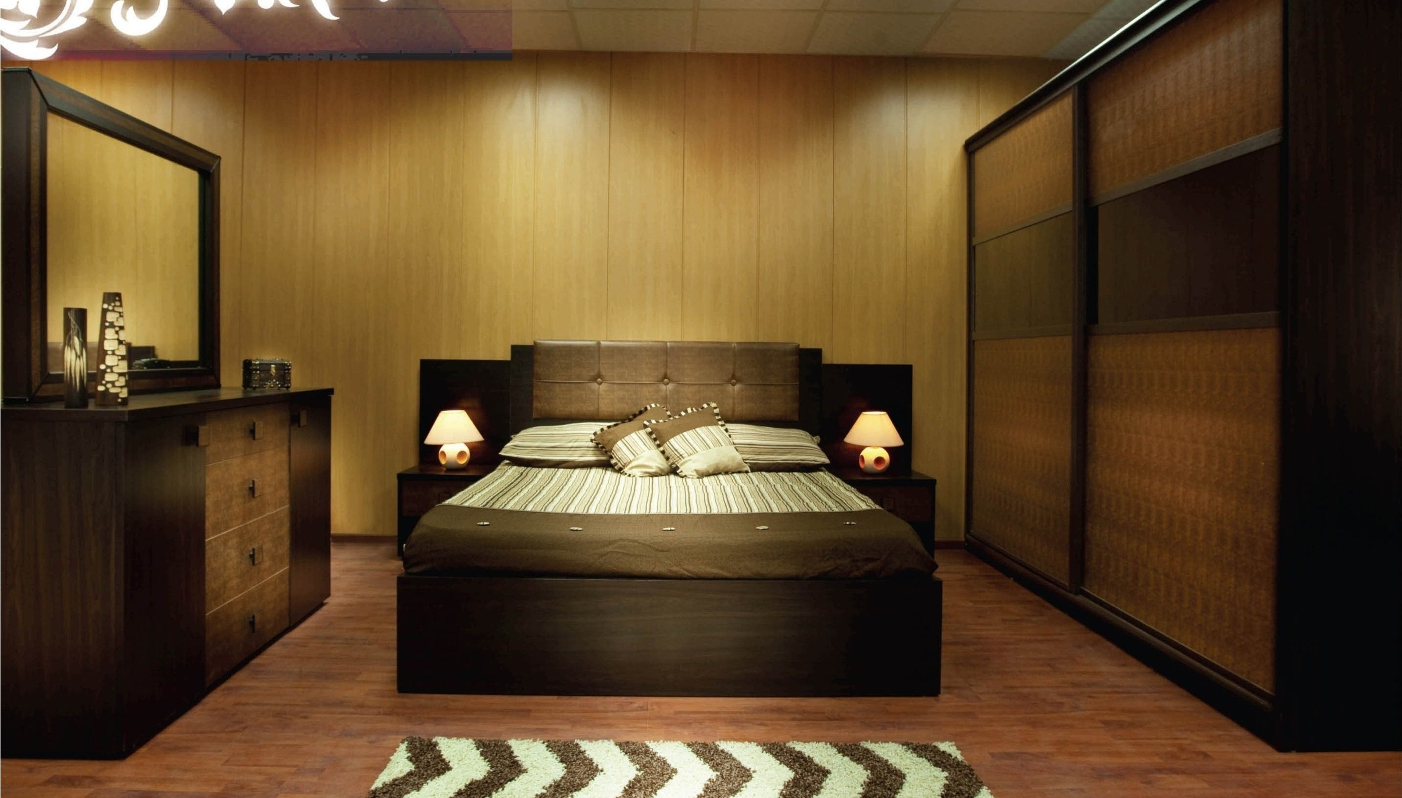 بالصور اجمل ديكورات غرف النوم , صور لغرف نوم ذي ديكور متميز 2624 5