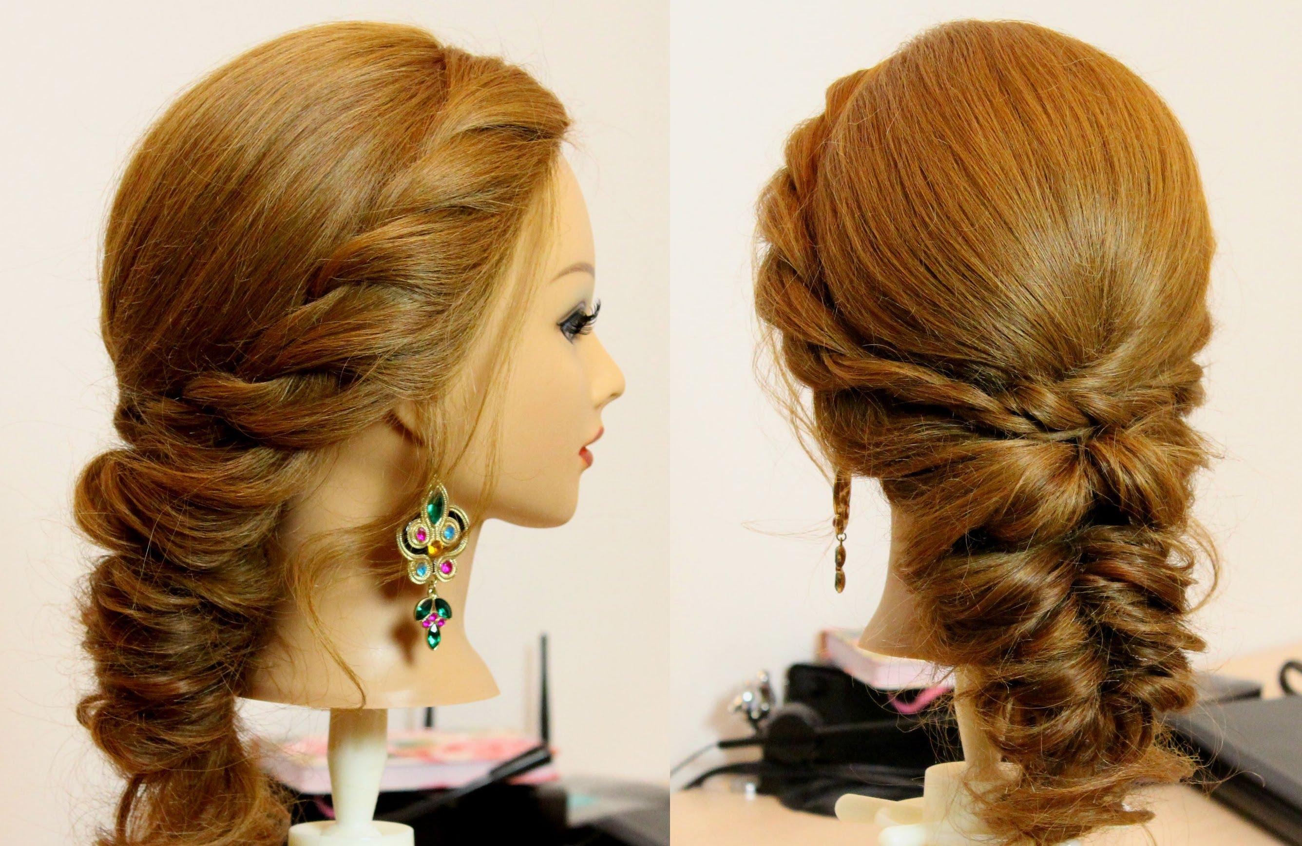 صورة تسريحات شعر بسيطة , احلى تسريحات شعر