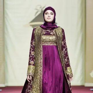 صورة قنادر قطيفة 2019 عراسي , اجمل تصميمات حديثة لفستان البيت القطيفة 2785 8