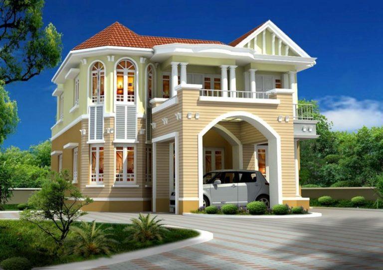 واجهات منازل واجهة منزل جميلة ومميزة دلع ورد