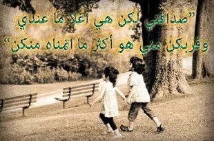 صورة صور معبرة عن الصداقة , كلمات تعبر عن قسمة الصداقة