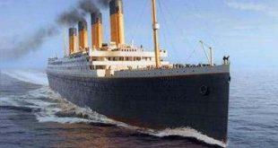 صورة سفينة تيتانيك , تيتانك اكبر باخرة في العالم