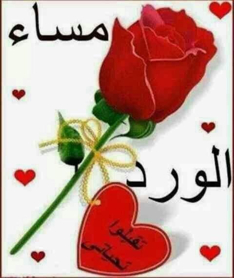صورة مساء الورد حبيبي , اجمل صور مساء الخير