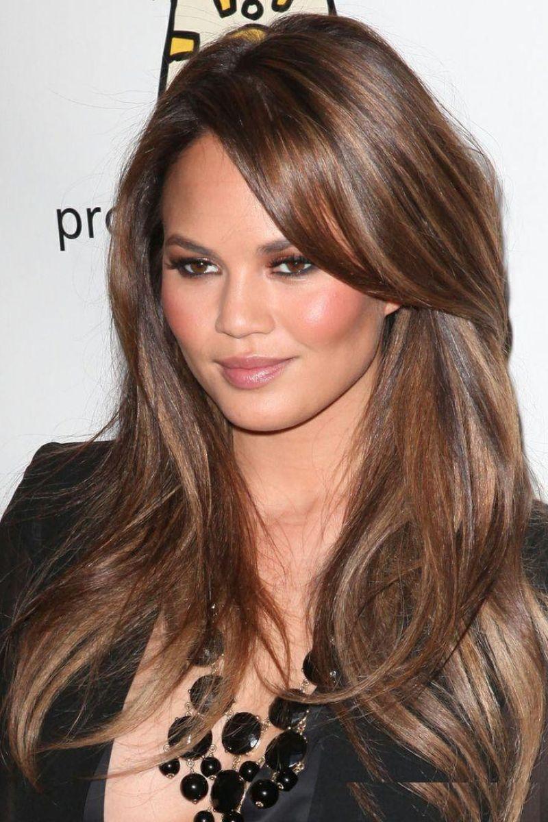 صور احدث قصات الشعر الطويل , قصات الشعر الطويل الحديثة