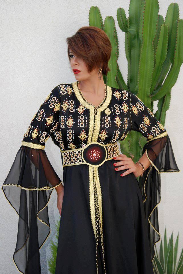 بالصور قفطان تونسي , ارتداء القفطان التونسي الجميل 4035 13
