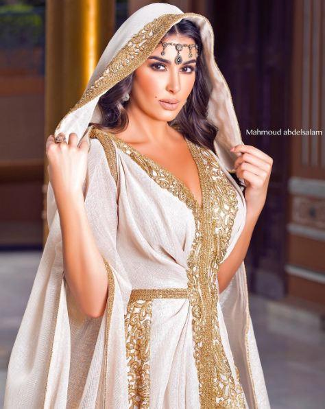 بالصور قفطان تونسي , ارتداء القفطان التونسي الجميل 4035 6